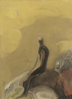 Cavaliere su giallo, 1964